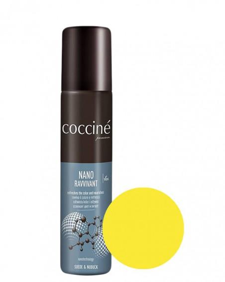 Nano Revvivant Coccine, żółta pasta do zamszu, nubuku