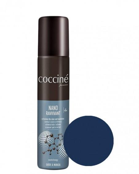 Nano Revvivant Coccine, granatowa pasta do zamszu, nubuku