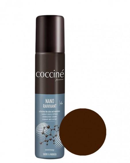 Nano Revvivant Coccine, ciemnobrązowa pasta do zamszu, nubuku