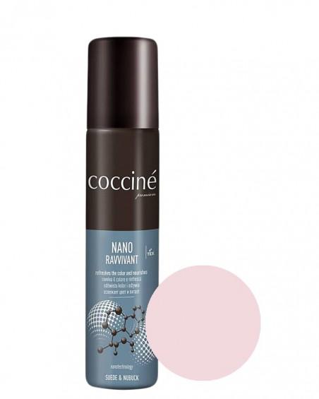 Nano Revvivant Coccine, jasnoróżowa pasta do zamszu, nubuku