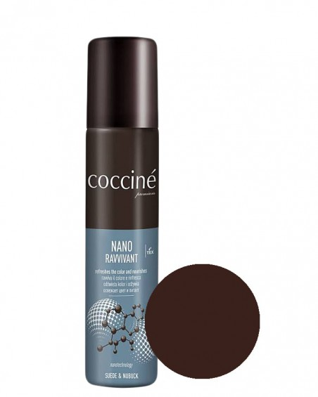 Nano Revvivant Coccine, pasta do zamszu, nubuku, chocolate