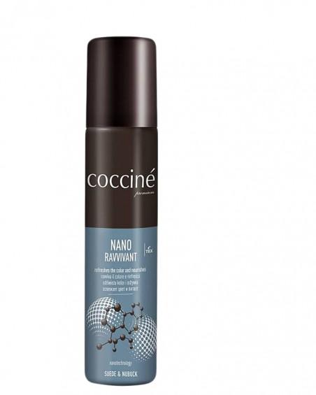 Nano Revvivant Coccine, brązowa pasta do zamszu, nevada