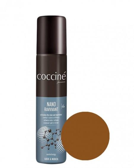 Nano Revvivant Coccine, brązowa pasta do zamszu, mid brown