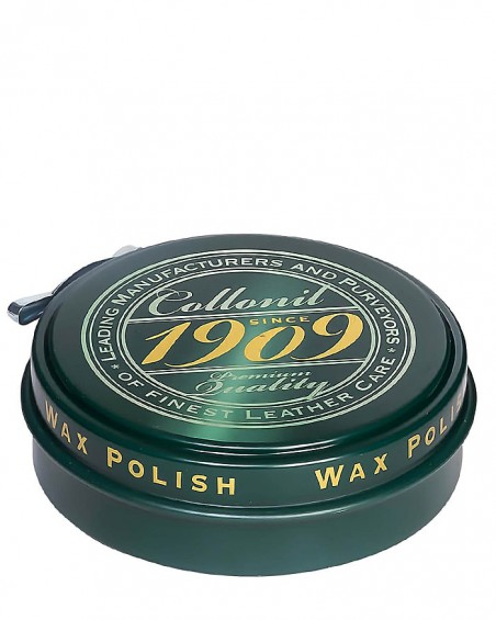 Bezbarwna, klasyczna pasta do butów, Wax Polish, Collonil 1909