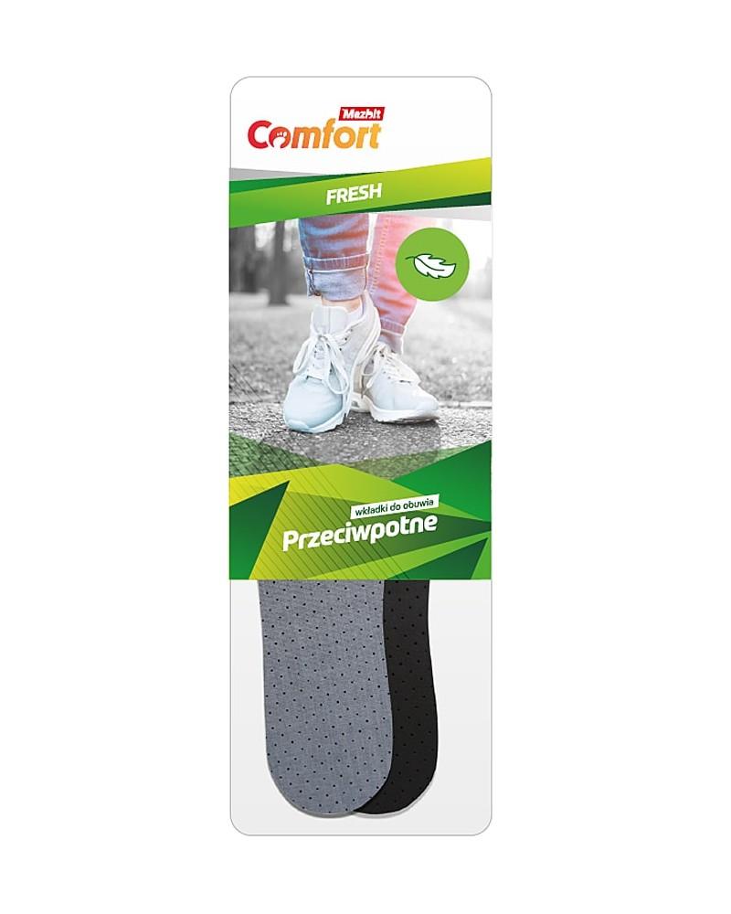 Przeciwpotne wkładki do butów z aktywnym węglem, Max, 071 Mazbit