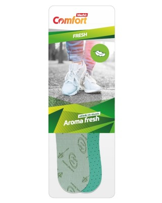 Antybakteryjne, zapachowe wkładki do butów, Aroma Fresh, 072, Mazbit