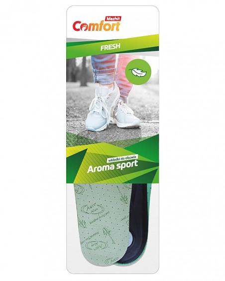 Wkładka do butów sportowych, damska, Aroma Sport MO453