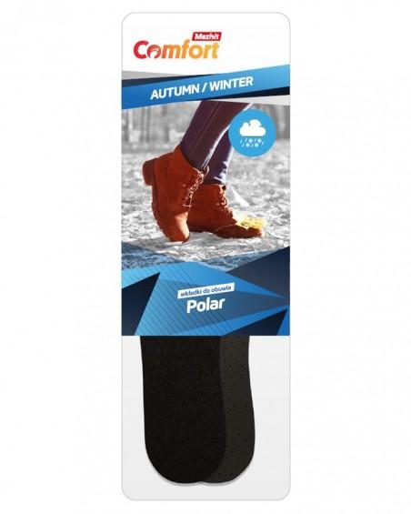 Ciepłochronne wkładki do butów, polarowe, męskie, 052, Mazbit