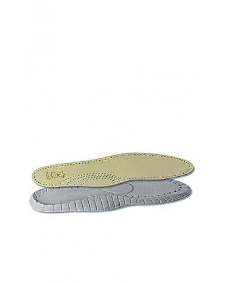 Wkładka do butów skórzana, profilowana, damska, Travel MO414