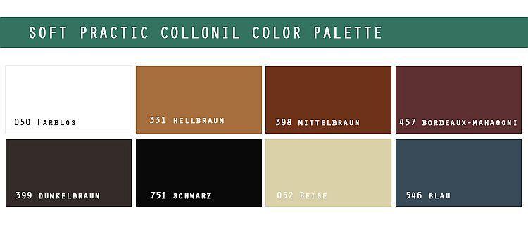 Paleta kolorów Soft Practic Collonil