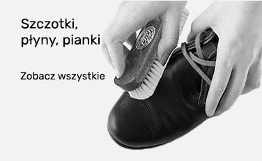 Szczotki do butów, pianki do czyszczenia obuwia